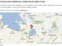 Screenshot of Fibromyalgia Doctors Directory